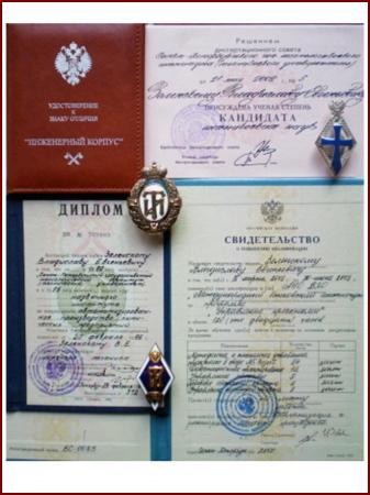 d jpg Дипломы и знаки выпускника Технологического Института Технического Университета 2002 1999